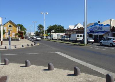 Le boulevard du front de mer