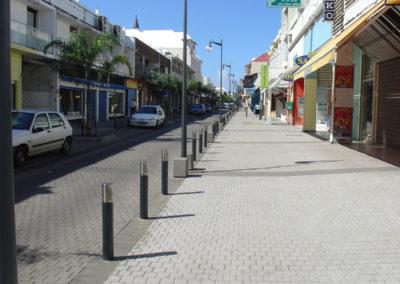 La rue des Bons Enfants à St-Pierre
